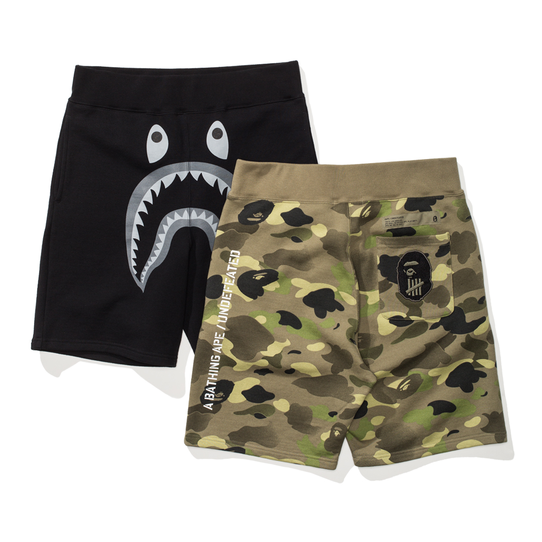 undefeated_bape_collaboration_sweatshort