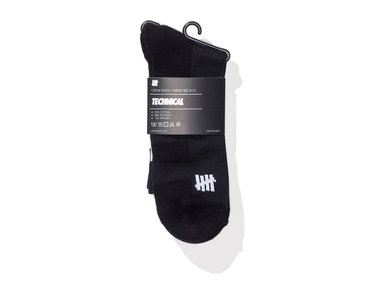 undefeated_undsocks002_technical_crew_black