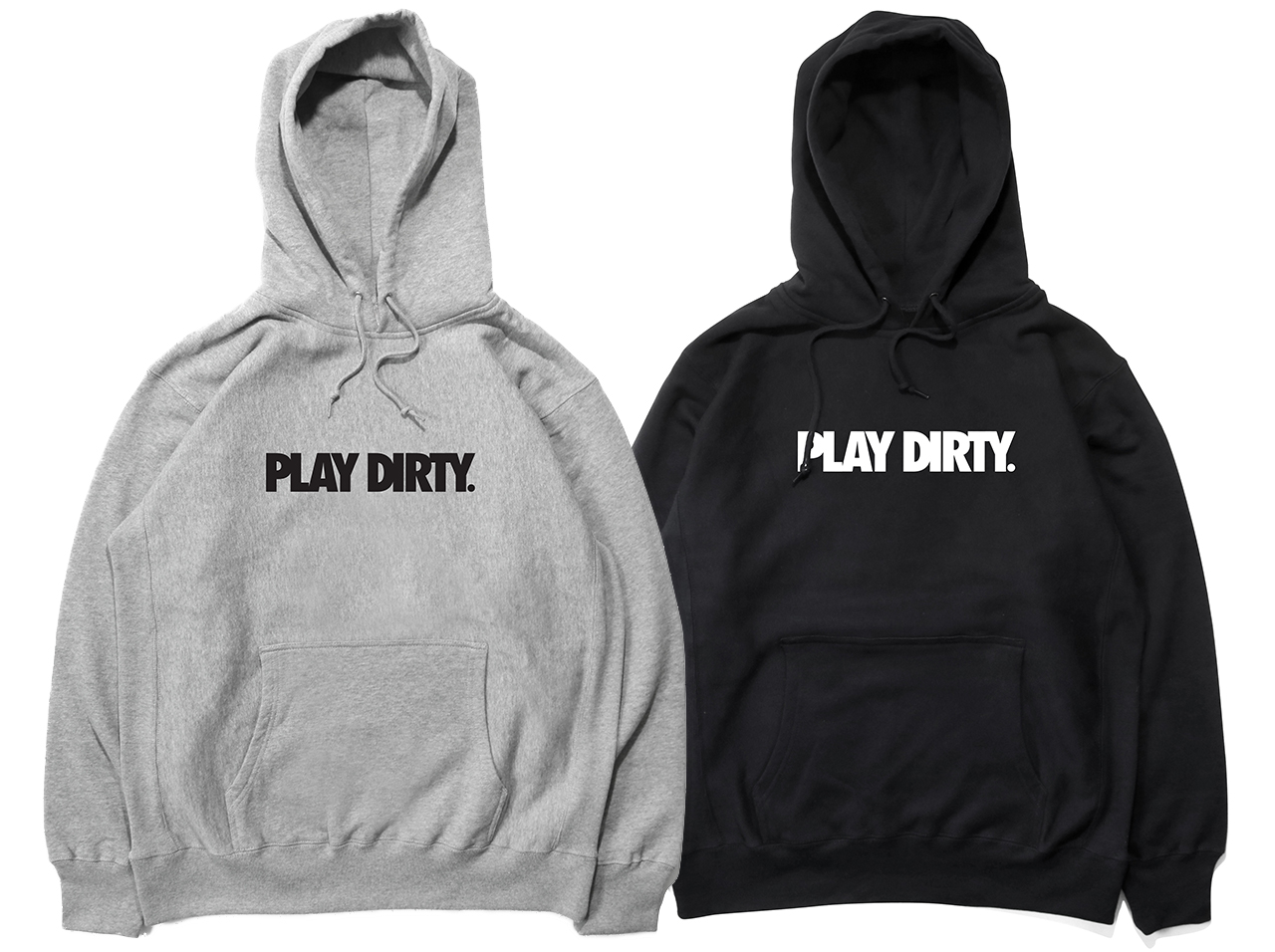 UNDEFEATED PLAY DIRTY PULLOVER HOOD