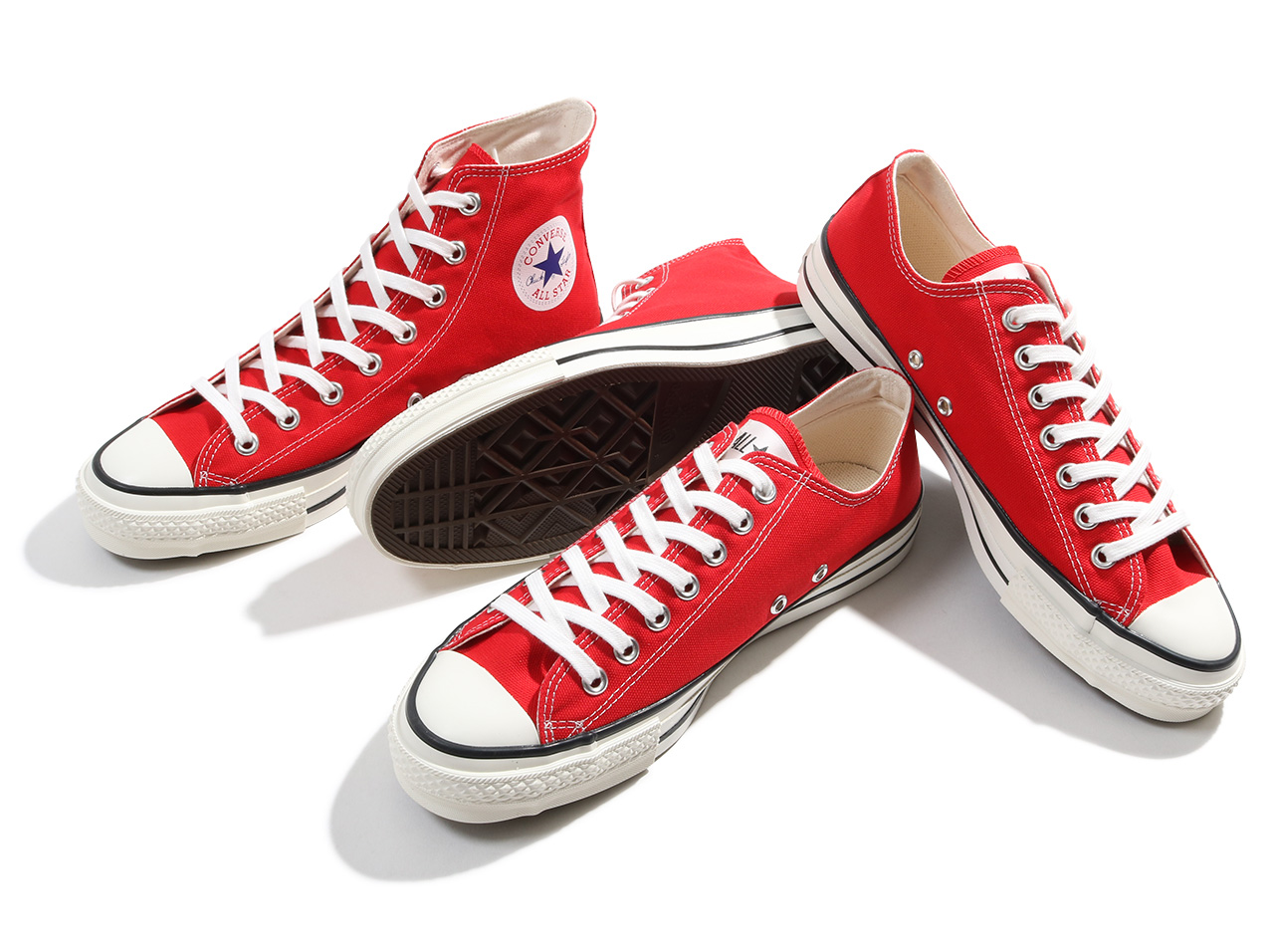 "CONVERSE CANVAS ALL STAR J HI ""made in JAPAN"""