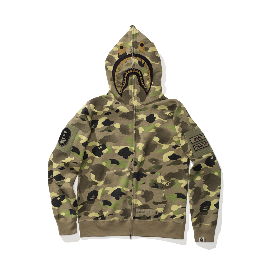 undefeated_bape_collaboration_shark_hoodie