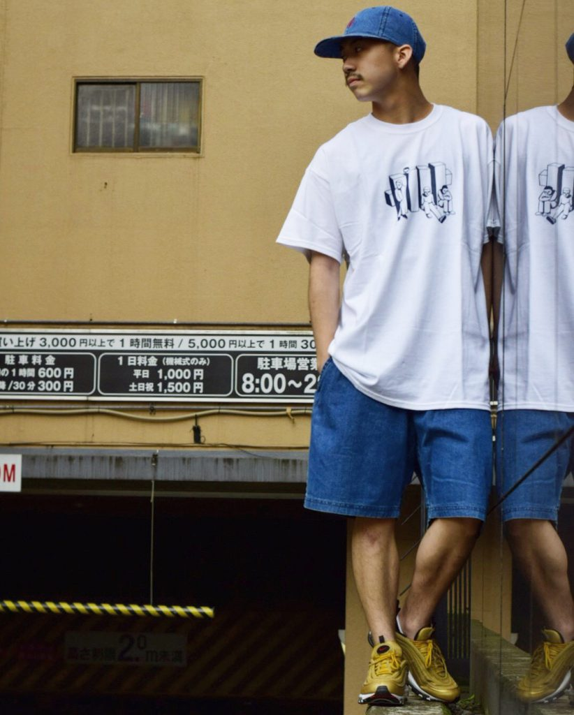 Style Sample #104【UNDEFEATED BLOCK DOGS S/S TEE,TRUNK DOGS S/S TEE】