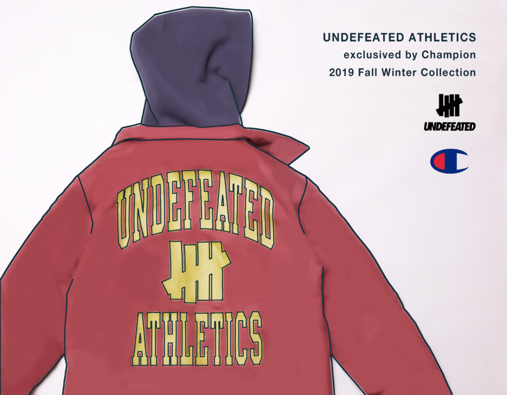 UNDEFEATED ATHLETICS by Champion 2019 Fall Winter Collection