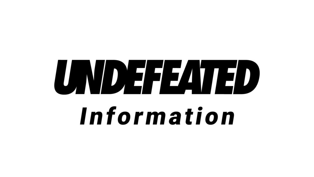 UNDEFEATED 年末年始営業時間変更のお知らせ