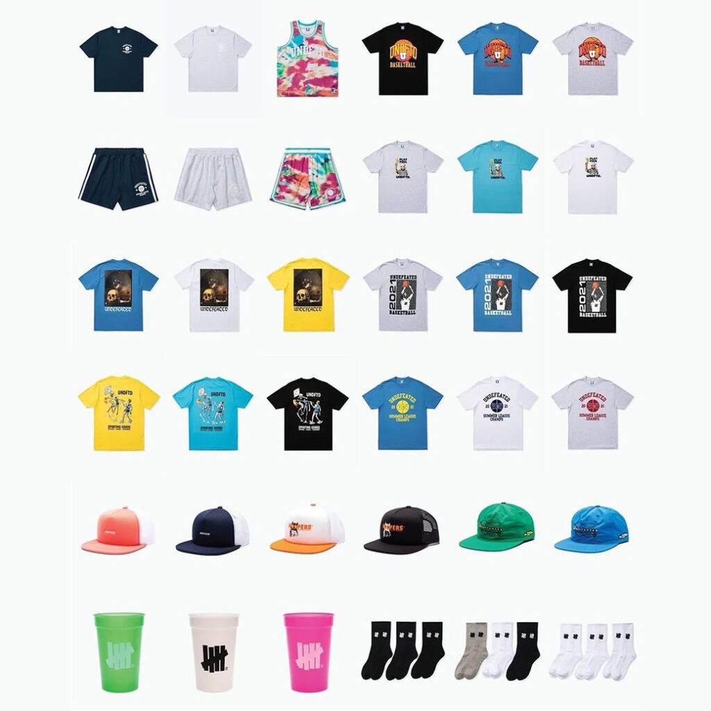 UNDEFEATED SUMMER '21 DROP2