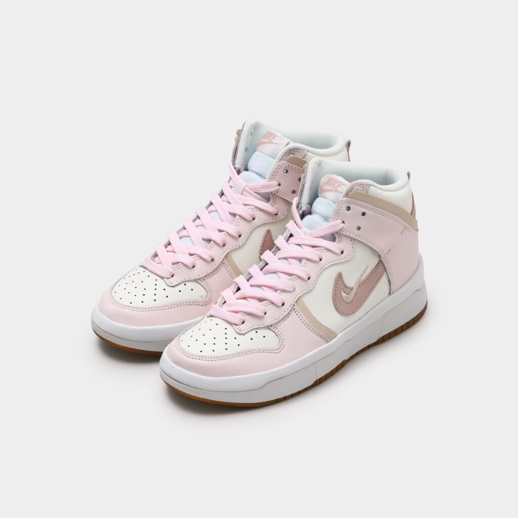 """NIKE WMNS DUNK HIGH UP """"PINK/WHITE"""""""