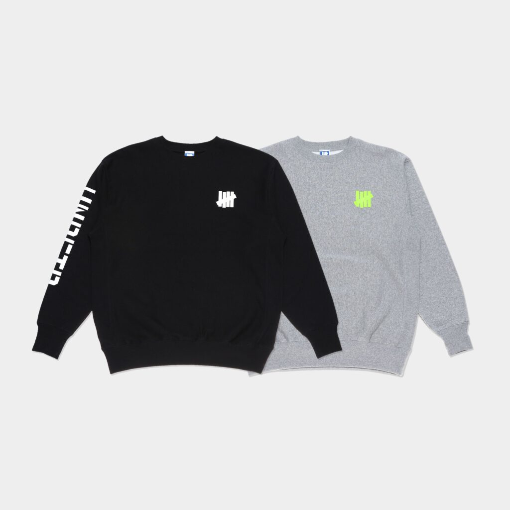 UNDEFEATED STENCIL SLEEVE ICON CREW SWEAT